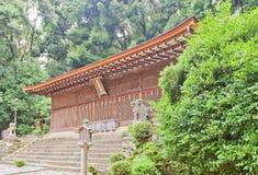 Hall Honden principale & x28; 1067& x29; del santuario shintoista di Ujigami in Uji, il Giappone Immagini Stock