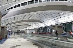 Hall of Hong Kong International Airport. Stock Image