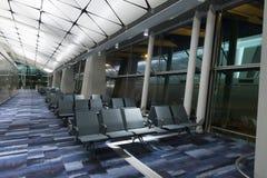 Hall of Hong Kong International Airport. Royalty Free Stock Images