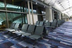 Hall of Hong Kong International Airport. Royalty Free Stock Photography