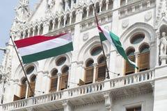 Hall hongrois du Parlement photographie stock