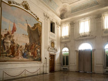 Hall of Honour with the fresco Royalty Free Stock Photo