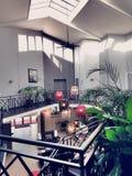 Hall hotel Zdjęcia Stock