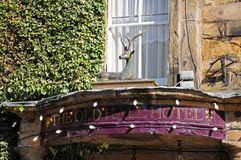 Hall Hotel idoso, Buxton Imagens de Stock