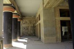 Hall i Knossos, Kreta Fotografering för Bildbyråer