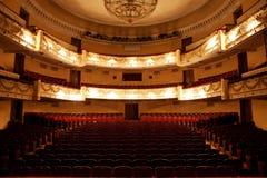 Hall i teatern Arkivbild