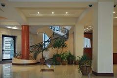 Hall im Hotel lizenzfreies stockbild