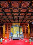 Hall of Imperial Palace. The scenery of hall of Imperial Palace of Qing Dynasty in China stock images