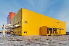 Hall industriel photographie stock