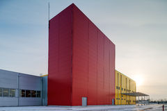 Hall industriel photos libres de droits