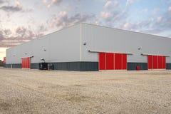 Hall industriel et commercial Photo libre de droits