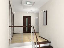 Hall-Innenraum Lizenzfreies Stockfoto