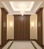 Hall-Innenraum. Stockbild