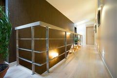 Hall inside modern apartment Stock Photo