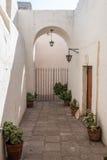 Hall inside Santa Catalina monastery Arequipa Peru Stock Images