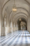 Hall inside Versailles Chateau Royalty Free Stock Photography