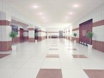 Hall  interior Royalty Free Stock Photos