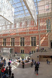 Hall interior of the national museum Rijksmuseum, Amsterdam Stock Image