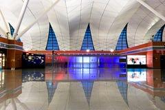 Hall international de départ d'aéroport de Shenyang Images stock