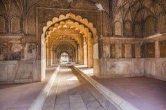Hall Intymna widownia lub Diwan Ja Zdjęcie Royalty Free