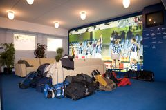 Hall Istny Sociedad stadium w Donostia fotografia stock
