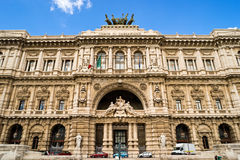 The Hall of Justice (Palazzaccio) in Rome Royalty Free Stock Photography