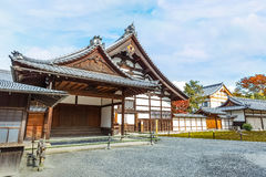 A Hall at Kinkaku-ji Temple in Kyoto Stock Photography