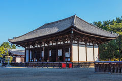 A Hall at Kofukuji Temple in Nara Royalty Free Stock Photos