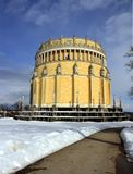 Hall of Liberation in Wintertime Stock Images