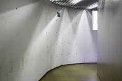 Hall with lights Stock Image