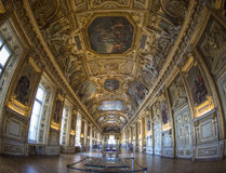 Hall in Louvre Museum Royalty Free Stock Photo