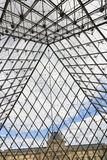 The Hall in Louvre - Paris Royalty Free Stock Photos