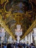 Hall lustra, Francja - pałac Versailles, Versailles - Obraz Royalty Free