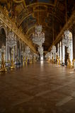Hall lustra, Versailles pałac, Francja fotografia stock