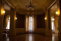 Hall in the Lviv ancient casino Royalty Free Stock Image