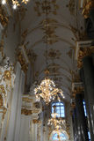 Hall after main Staircase of the Winter Palace Stock Images