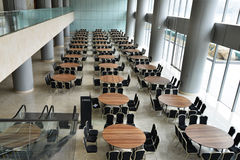 Hall with many table Stock Image