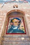 Hall med ` Lincoln i Dalivision ` i Dali Theatre Figueres, Spanien royaltyfria bilder
