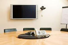 Hall of meetings Stock Images