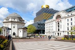 Hall of Memory and Library, Birmingham. Royalty Free Stock Images