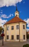 Hall miasteczko w Bielsko Podlaska obraz royalty free