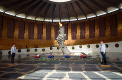 Hall of Military Glory. Memorial complex Mamayev Kurgan in Volgograd Royalty Free Stock Photos