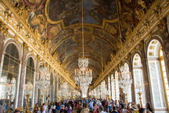 Hall of Mirrors Stock Photography
