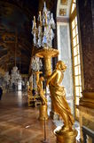 Hall of Mirrors, Versailles Palace, France Royalty Free Stock Photography