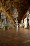 Hall of Mirrors, Versailles Palace, France Stock Images
