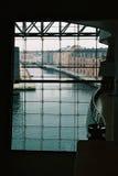 Hall mit einer Ansicht stockfoto