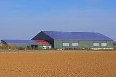 Hall mit Solardach Lizenzfreies Stockbild