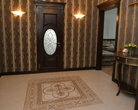Hall in modern classical style Stock Photos