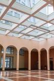 Hall moderne de construction d'affaires Photo stock