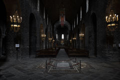 Hall monaster Santa Maria zdjęcia royalty free